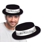 Music Note Skimmer Hat