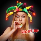 Mardi Gras Jester Light Up Hat