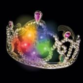 LED Princess Tiaras - 12 Pack