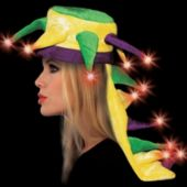 LED Mardi Gras Dragon Tail Hat