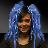 Blue Diva Dreads LED Headband
