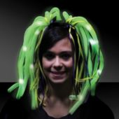 Mardi Gras Diva Dreads LED and Light-Up Headband
