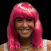 Pink Neon Wig