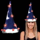 Flashing LED Wizard Hat