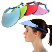 Foam Visors-12 Pack