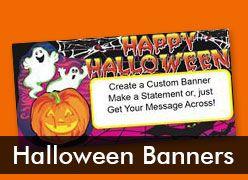 Halloween Custom Banners