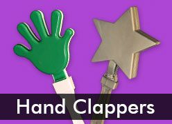 Plastic Hand Clappers & Clackers