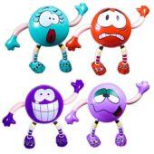 "Inflatable Krazy Kids - 21"" Multi-Color, 12 Pack"