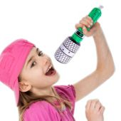 """Inflatable Microphones - 10"""" Multi-Color, 12 Pack"""