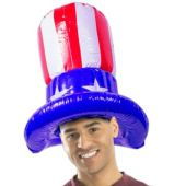 """Uncle Sam Inflatable Hat 18"""""""