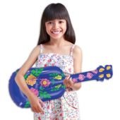 """Tropical Inflatable Ukuleles - 22"""", 12 Pack"""