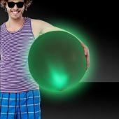 """Green LED Beach Ball - 30"""""""