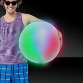 "Multi-Color LED Beach Ball - 30"""