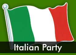 Italian Themed Party Supplies & Decorations