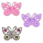 Butterfly Rings - 12 Pack