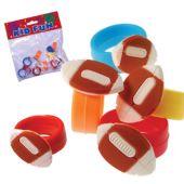 Football Rings - 12 Pack
