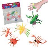 Neon Bug Rings - 12 Pack
