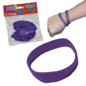 Purple Spirit Bracelets - 12 Pack