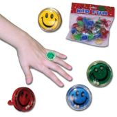 Smile Puzzle Rings-36 Pack