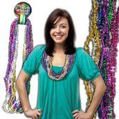 Happy Birthday Bead Necklaces - 12 Pack