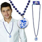 Hanukkah Bead Necklaces - 12 Pack