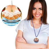 "Oktoberfest Bead Necklaces - 33"" - 12 Pack"