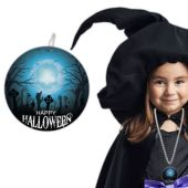 """Halloween Cemetery Bead Necklaces - 33"""" - 12 Pack"""
