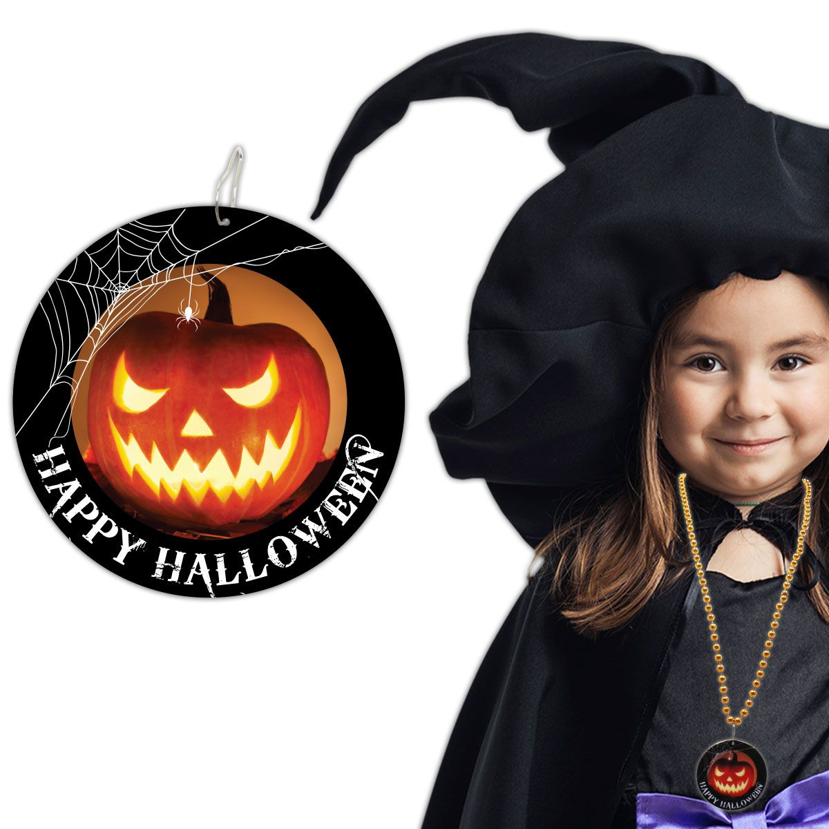 Halloween Pumpkin Necklaces - 33
