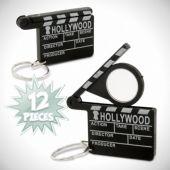 Movie Clap Board Keychains