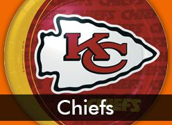 Kansas City Chiefs Party Supplies