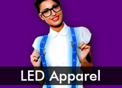 LED Clothing & Light Up Apparel