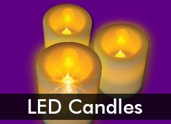 LED Candles - Flameless, Flickering & Floating
