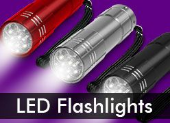 LED Flashlights & Light Up Keychains