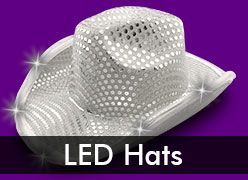LED Hats & Light Up Cowboy Hats