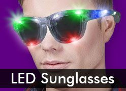 LED & Flashing Sunglasses