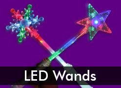 Led light up toys light up party favors in bulk windy for Led wands wholesale