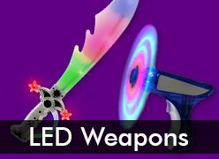 Light Up Swords, Light Laser Sabers & LED Bubble Guns
