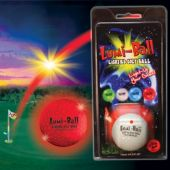 Lumi Ball - Blister Card Retail Pack  Lighted Golf Ball