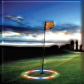 Multi Color Flashing LED and Light-Up Target Hoop