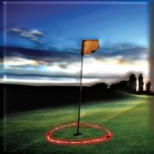 Red Flashing LED and Light-Up Target Hoop
