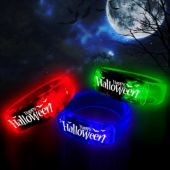 Assorted Color Halloween LED Bangle Bracelets - 12 Pack