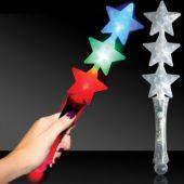 LED Triple Star Wand