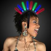 LED Mohawk Head Piece