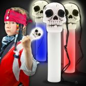 Light Up Skull Foam Wand