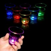 LED Rainbow Shot Glass-2oz