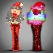 LED Santa Spinner Wand