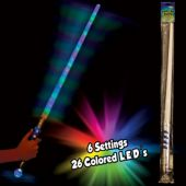 "Multi-Color LED Mega 30"" Sword"