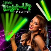 Green LED Foam Lumiton