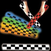 LED Checkered Flag Foam Lumiton