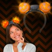 LED Pumpkin Headbopper